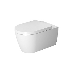 Duravit ME by Starck Wall-Mounted Pan 570mm with Durafix Satin Matt White