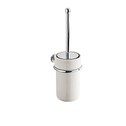 English Wall-Mounted Toilet Brush Holder