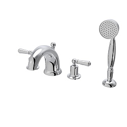 Arc 4-Piece Bath Shower Mixer