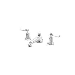 Arc 3-Piece Low Spout Basin Mixer