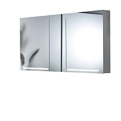 Schneider Graceline 3 Door Illuminated Mirror Cabinet