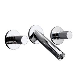 Hansgrohe Axor Starck Wall-Mounted 3-Piece Basin Mixer