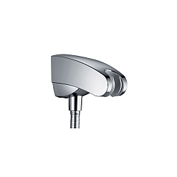 Hansgrohe Porter'E Handshower Holder & Outlet Chrome