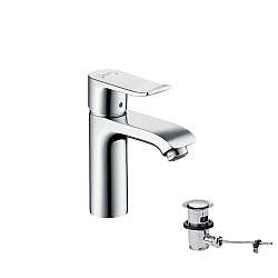hansgrohe Metris 110mm Single Lever Basin Mixer