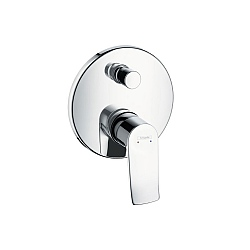Hansgrohe Metris Wall-Mounted Concealed Bath or Shower Control