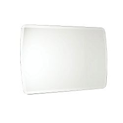 Hoxton Cross Bevelled Rectangular Mirror