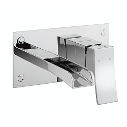 Libero Wall-Mounted Single Lever Basin Mixer