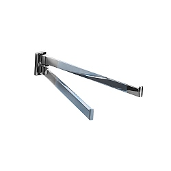 Look Double Swing Towel Rail