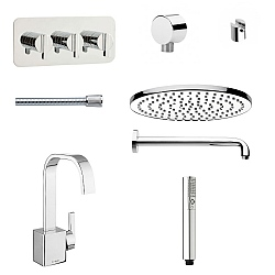 Meandro Ensuite Set 10
