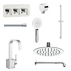 Meandro Ensuite Set 8