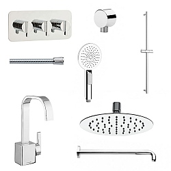 Meandro Ensuite Set 9