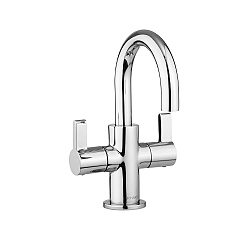 Moto Small Dual Lever Basin Mixer