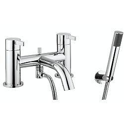 Moto Bath Shower Mixer & Flexible Shower Set