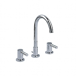 Charleston Arc 3-Piece Basin Mixer