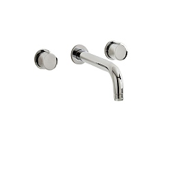 Ocean Wall-Mounted 3-Piece Basin Mixer