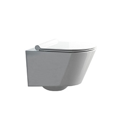 Zone Wall-Mounted Toilet White