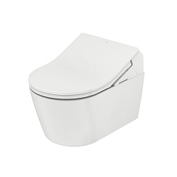 TOTO RX Wall-Mounted Pan & Washlet