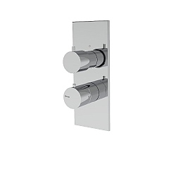 Spillo Two Way Dual Control Thermostatic Shower Valve