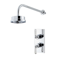 Arc Dual Control Shower Valve & Shower Head with Arm