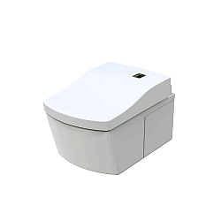 Toto Neorest AC Wall-Mounted Pan & Washlet