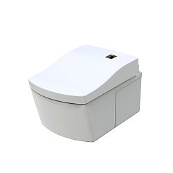 Toto Neorest LE Wall-Mounted Pan & Washlet