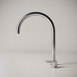 John Pawson Set 11.2 Deck-Mounted Mixer Tap With Swivel Spout 212mm