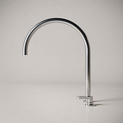 John Pawson Set 11.3 Deck-Mounted Mixer Tap With Swivel Spout 280mm