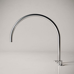 John Pawson Set 11.4 Deck-Mounted Mixer Tap With Swivel Spout 400mm