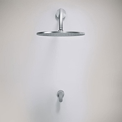 John Pawson Set 21 300mm Rain Shower With Manual Progressive Mixer
