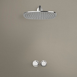 Piet Boon Set 20 Thermostatic Wall-Mounted Rain Shower Set