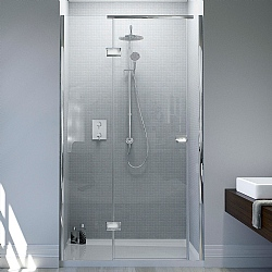Matki Illusion Recess Shower Enclosure With Tray
