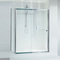 Matki Colonade Sliding Door Shower Enclosure With Tray