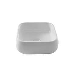 Cielo Shui Square 400mm Countertop Washbasin