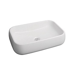 Cielo Shui Rectangular 600mm Countertop Washbasin