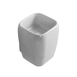 Cielo Shui Deep Set Slimline Wall-Mounted Basin
