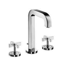 Hansgrohe Axor Citterio 3-Piece Cross Handle Basin Mixer