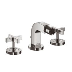 Hansgrohe Axor Citterio 3-Piece Cross Head Bidet Mixer