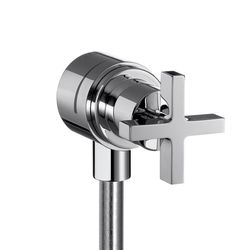Hansgrohe Axor Citterio Crosshead Wall Outlet With Shut Off