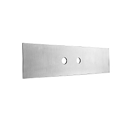 Gessi Universal 2-Hole Finishing Plate