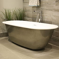 Organic Freestanding Bath