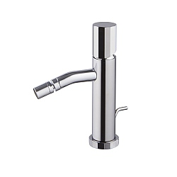 Spillo Tech V Single Lever Bidet Mixer with Pop-Up Waste