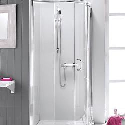 Simpsons Supreme Luxury Curved Shower Enclosure