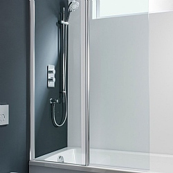 Simpsons Design Double Bath Screen 1500 x 1060mm Glass