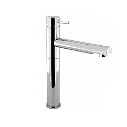Crosswater Kai Lever Tall Monobloc Basin Mixer with Swivel Spout