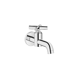 Dornbracht Tara Wall-Mounted Pillar Tap