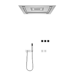 Dornbracht Transforming Water Sensory Sky Shower Set