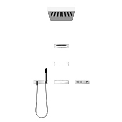 Dornbracht Transforming Water Vertical Shower Set