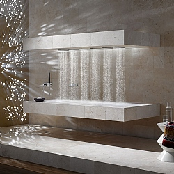 Dornbracht Transforming Water Horizontal Shower With Handshower