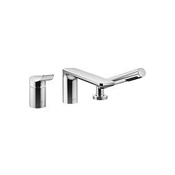 Dornbracht FIL Deck-Mounted 3-Piece Bath Filler
