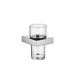 Dornbracht MEM Wall-Mounted Tumbler & Holder